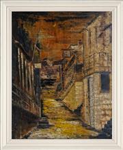 Sale 8420 - Lot 566 - Jeffrey Smart (1921 - 2013) - Untitled, 1945 61.5 x 51cm