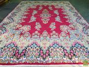 Sale 8562 - Lot 1043 - Persian Kerman (425 x 305cm)