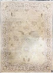 Sale 8676 - Lot 1326 - Pakistani Hand Knitted Wool Rug (285cm x 200cm)