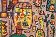 Sale 8901A - Lot 5004 - Peter Ferguson (1956 - ) - Head Gardener 25.5 x 37 cm