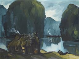 Sale 9118A - Lot 5030 - Le Thanh Son (1962 - ) - Ha Long Bay, 1994 63 x83 cm