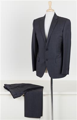 Sale 9120K - Lot 84 - A Louis Vuitton grey laine wool suits set; jacket and pants size 50