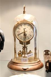 Sale 8322 - Lot 100 - Shatz Dome Clock