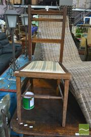 Sale 8390 - Lot 1524 - Timber Kitchen Chair