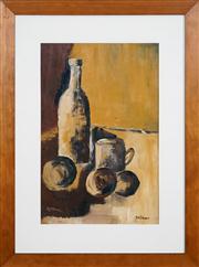 Sale 8420 - Lot 588 - Bill Coleman (1922 - 1993) - Still Life 51.5 x 33.5cm