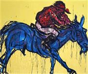 Sale 8538 - Lot 512 - Adam Cullen (1965 - 2012) - Derby, 2007 67 x 79cm