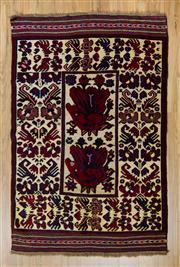 Sale 8566C - Lot 75 - Persian Somac 204cm x 132cm