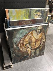 Sale 8819 - Lot 2063 - Group of (7) Contemporary Still Life, Nude and Landscape paintings, acrylic on canvas, various sizes