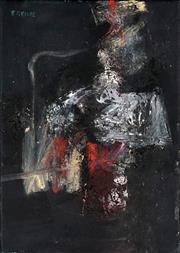 Sale 8867A - Lot 5081 - Robert Grieve (1924 - 2006) - Black & White Variation 35.5 x 25.5cm