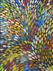 Sale 8301A - Lot 51 - Gloria Petyarre (c1945 - ) - Bush Medicine Leaves 200 x 150cm
