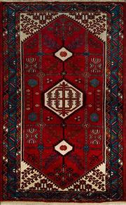 Sale 8370C - Lot 92 - Persian Hamadan 216cm x 159cm