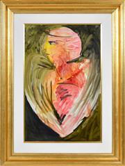 Sale 8394 - Lot 561 - Charles Blackman (1928 - ) - Forever 74.5 x 49.5cm