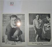 Sale 8404S - Lot 83 - Newtown Daily Mirror Cards 1967 – Paul Quinn, Bob Keyes