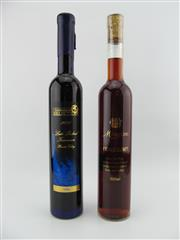 Sale 8454W - Lot 30 - 2x 500ml Dessert Wines - 1x 2006 Golden Grape Estate Late Picked Traminer, Hunter Valley; 1x Michelini Fragolino, Italy