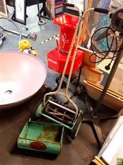 Sale 8582 - Lot 2250 - Vintage Push Mower with Catcher