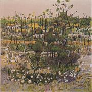 Sale 8693A - Lot 5052 - Clem Millward (1929 - ) - Southern Heath, 1990 56.5 x 56.5cm