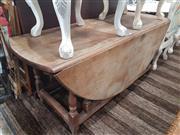 Sale 8724 - Lot 1098 - Drop Leaf Farm House Table