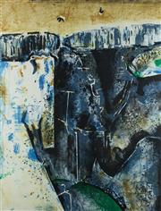 Sale 8753A - Lot 5013 - Fred Williams (1927 - 1982) - Waterfall, c1980 59 x 45cm (sheet: 75 x 57cm)