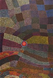 Sale 8743 - Lot 518 - Patsy Marfurra (1944 - ) - Durrmu, 2006 146 x 99cm (stretched and ready to hang)