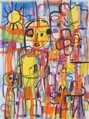 Sale 8901A - Lot 5033 - Judi Singleton (1963 - ) - Mother & Child 79.5 x 60 cm