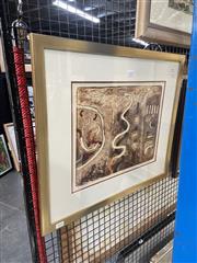 Sale 8903 - Lot 2016 - John Winch Sign & Symbol 52 x 60cm (frame), signed