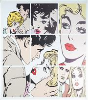 Sale 9009A - Lot 5072 - After Roy Lichtenstein (1923 - 1997) - Untitled 115 x 100 cm (stretched and ready to hang)