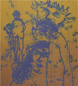 Sale 9096A - Lot 5029 - Sidney Nolan (1917 - 1992) - (Burke and Wills Series) 73 x 60.5 cm