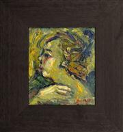 Sale 8374 - Lot 511 - Salvatore Zofrea (1946 - ) - Portrait of a Woman 18 x 15.5cm