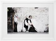 Sale 8443A - Lot 5085 - Banksy (1974 - ) - Maid in London 38 x 58cm (frame size: 58 x 79cm)