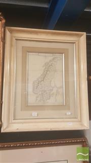 Sale 8446 - Lot 2073 - Antiquarian Map Scandinavia