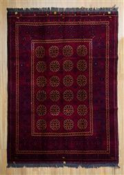 Sale 8566C - Lot 76 - Afghan Qunduzi 210cm x 148cm
