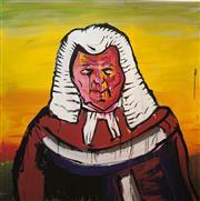 Sale 8609A - Lot 5030 - Adam Cullen (1965 - 2012) - The Judge 100 x 100cm