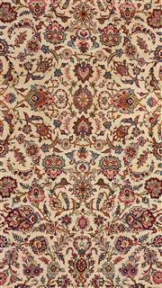 Sale 8626A - Lot 161 - A Cadrys Iranian Kashan Handspun Wool Carpet, Size; 460x325cm, RRP; $20000