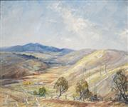 Sale 8704 - Lot 596 - Dora Toovey (1898 - 1986) - Mount Canobolas, Orange, 1962 48 x 58.5cm