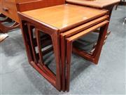 Sale 8801 - Lot 1074 - G Plan Teak Nest of Tables