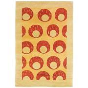 Sale 8820C - Lot 43 - Afghan Mid-century Style in Handspun Wool  211x143cm