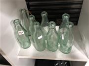 Sale 8859 - Lot 1086 - Collection of 8 Vintage Glass incl. Scholes Rostron