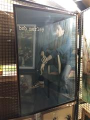 Sale 8903 - Lot 2062 - Framed Bob Marley Poster