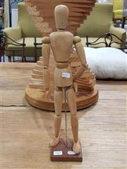 Sale 8934 - Lot 1021 - Articulated Artists Mannequin