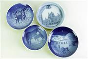 Sale 8968 - Lot 33 - A Collection of 4 Small B&G Copenhagen Commemorative Plates (Dia 15cm and 18.5cm)