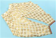 Sale 9090F - Lot 40 - A PAIR OF GOLD SILK BALLOON PANTS, size s-m