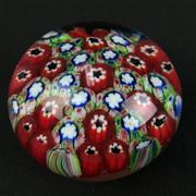 Sale 8402D - Lot 48 - Murano Millefiori Paperweight (Height - 5.5cm)