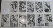 Sale 8404S - Lot 85 - St George The Sun Footy Cards 1967 – Brian Clay, Elton Rasmussen, Ian Walsh, Dick Huddardt, Ken Maddison, Denis Preston, Johnny Rape...