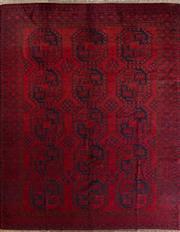 Sale 8447C - Lot 84 - Antique Afgahn Qunduzi 270cm x 200cm