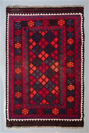 Sale 8472C - Lot 96 - Afghan Mayamana Kilim 147cm x 98cm