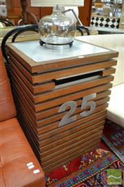 Sale 8480 - Lot 1157 - Timber Slatted No. 25 Letter Box