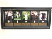 Sale 8733 - Lot 63 - Framed & Signed Golf Balls