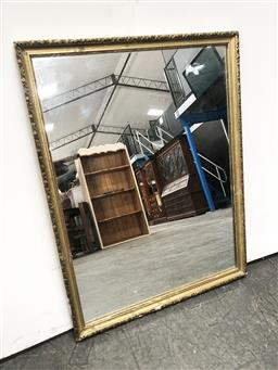 Sale 9108 - Lot 1095 - Ornate Gilt Framed Mirror (66 x 50cm)
