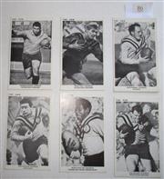 Sale 8404S - Lot 86 - Balmain The Sun Footy Cards 1967 – Arthur Beetson, Denis Tutty, Keith Barnes, Dave Bolton, Kevin Yow Yeh, Bob Boland