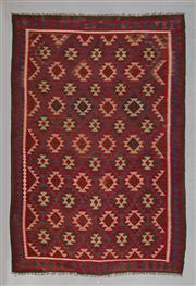 Sale 8472C - Lot 97 - Afghan Maymana Kilim 297cm x 211cm